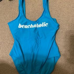 One piece swimsuit. Never worn
